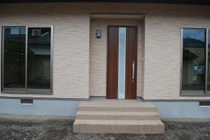 新築注文住宅の完成