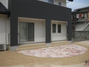 新築注文住宅の外構エクステリア工事