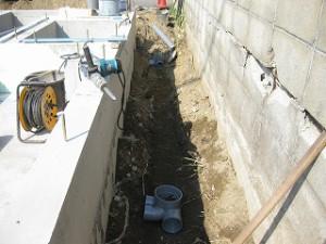 注文住宅の新築基礎工事