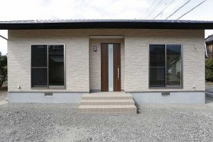 新築住宅平屋建て15坪の家