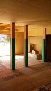木造平屋建て新築工事