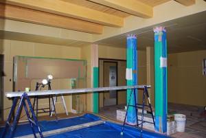 新築住宅の屋内工事
