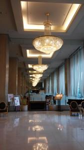 松山全日空ホテルロビー