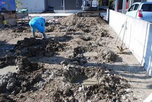 地盤柱状改良工事