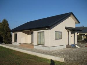注文新築住宅の完成