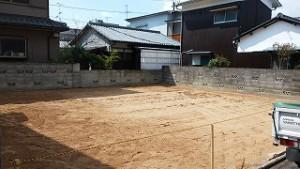 新築住宅の建て替え工事