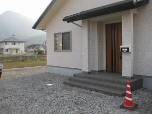 新築住宅の外構エクステリア