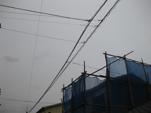 既存建屋の解体