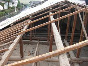 屋根瓦の葺き替え