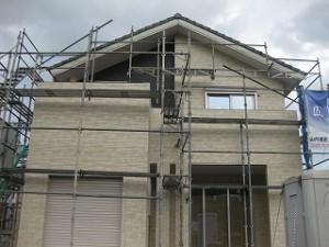 新築外壁サイディング