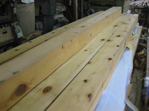 新築木造の墨付け・刻み