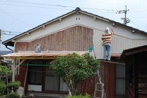 外壁の塗り替え工事