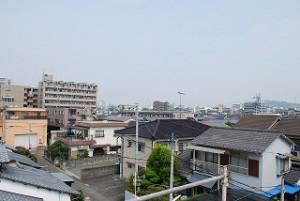 松山市の新築現場