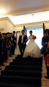 多彩な演出の結婚式