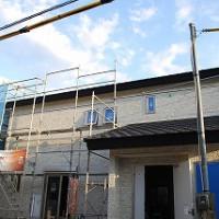 新築住宅の工事状況