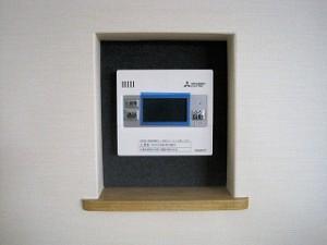 新築:屋内設備器具の取付