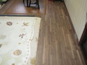 台所床のリフォーム