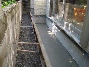 コンクリート土間工事