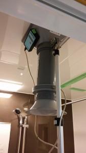 新築住宅の換気設備・風量測定