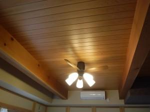 天井化粧梁