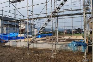 新築住宅の建前・上棟前