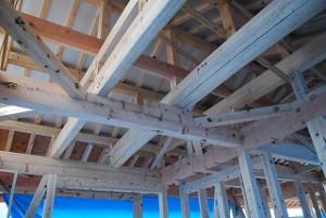 新築住宅の構造躯体