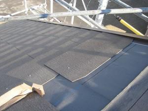 新築カラーベスト屋根施工