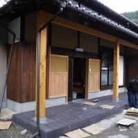 旧家の再生工事