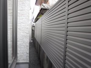 新築住宅の外構エクステリア工事