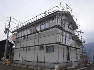 新築サイディング工事