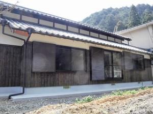旧家の古民家再生工事