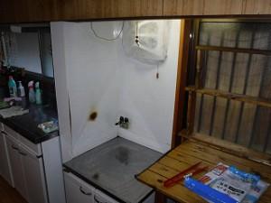 キッチン部の修繕・修理