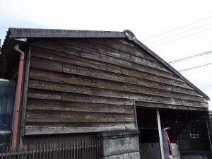 外壁張替え及び庇板金張替え