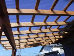 木造テラス