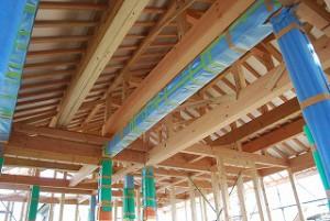 新築住宅の平屋建て