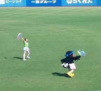 プロ野球観戦(ヤクルト×中日戦)