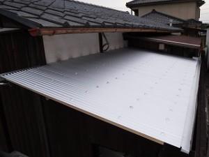 テラス屋根張替え工事