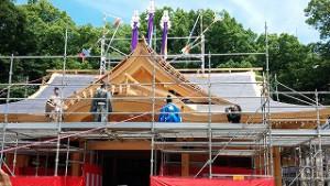 一宮神社さん新築上棟式