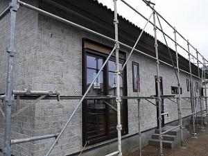 新築住宅工事の状況報告