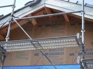 新築の屋根終い