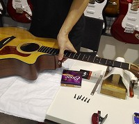 ギター無料点検