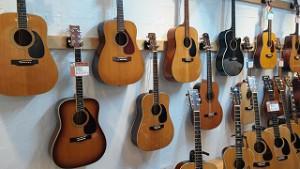 ギター専門店