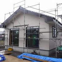 新築:木造平屋建て