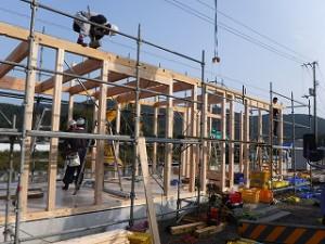 新築事務所の建前