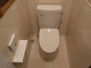 和式トイレから腰掛便器へリフォーム