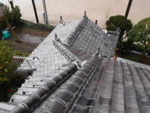 和瓦葺きの屋根