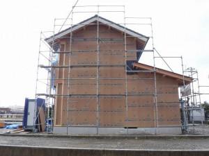 新築住宅の耐震耐力面材