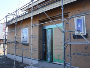 新築住宅の進捗状況報告