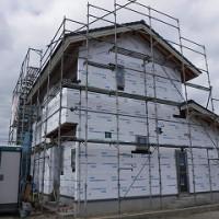 新築住宅の外壁透湿防水シート