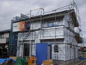 新築住宅の進捗状況